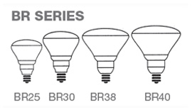 BR Series Incandescent lamps