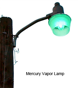 Superb Mercury Vapor Lamp