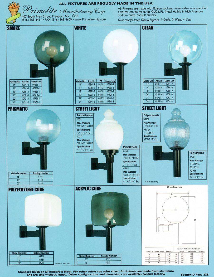 Primelite Catalog Section D Primelite Manufacturing