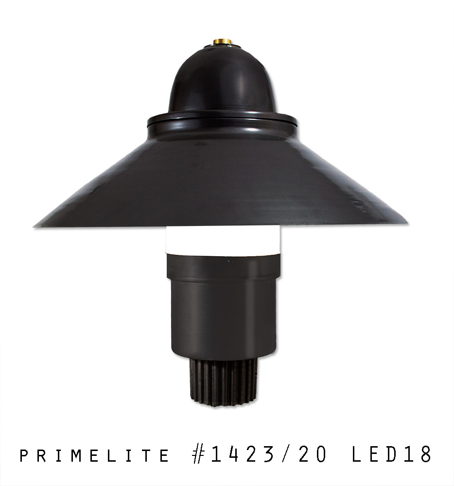 Featured fixture 142320 led18 primelite manufacturing post light 142320 led18 aloadofball Gallery