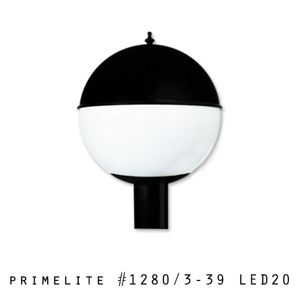 Post Light #1280/3-39 LED20