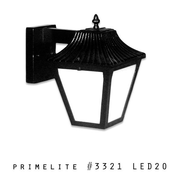 Post Light #3321 LED20