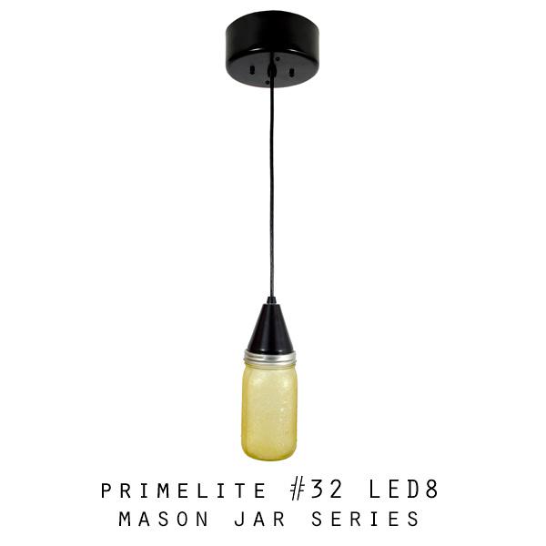 Mason Jar Series: #32 LED18