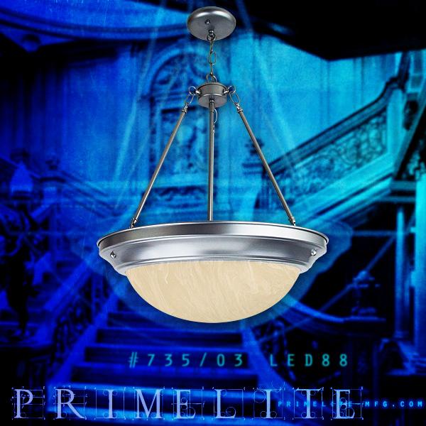 Primelite 735 03 led88 primelites featured led fixture is the chandelier