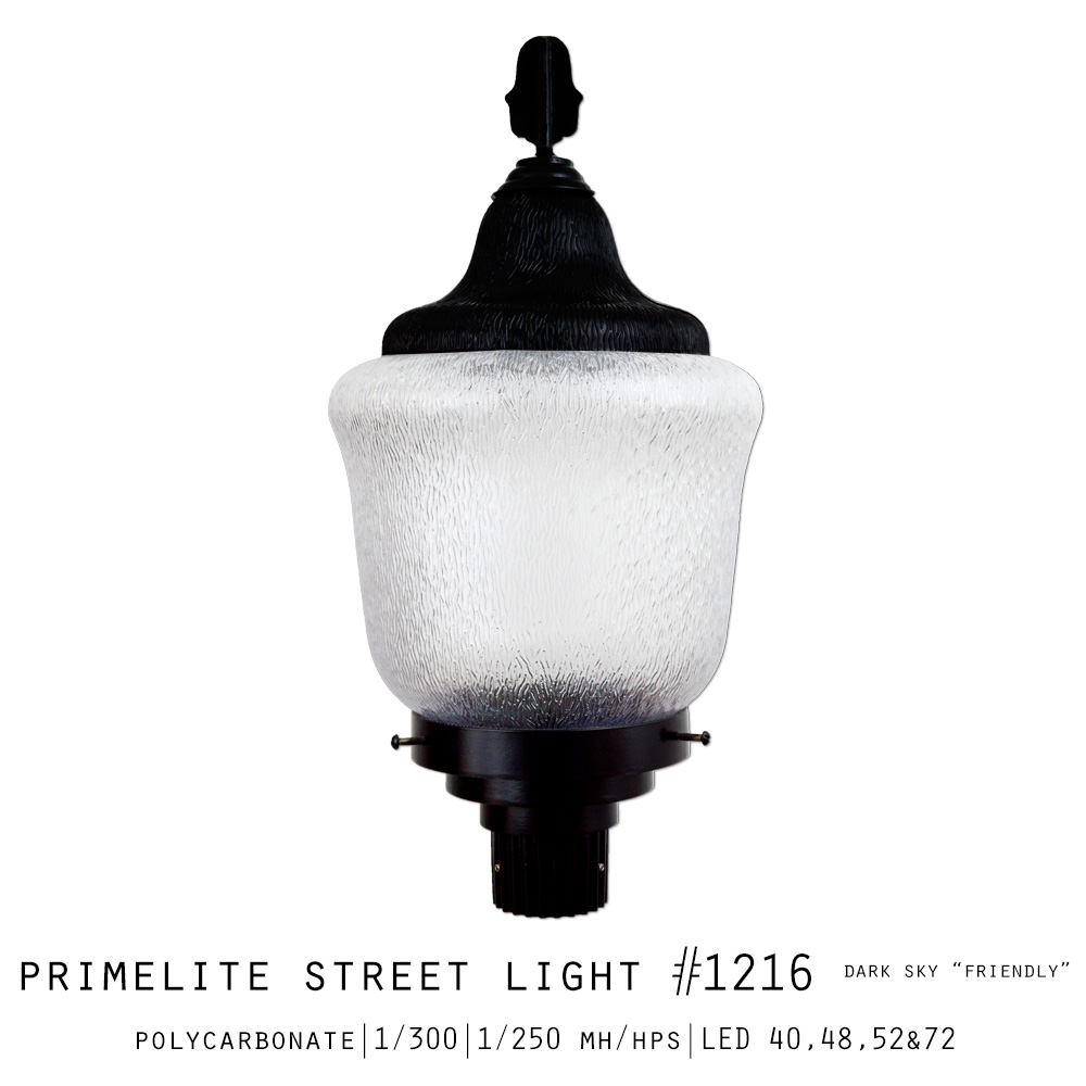 "Primelite Street Light #1216 | Dark Sky ""Friendly"" 