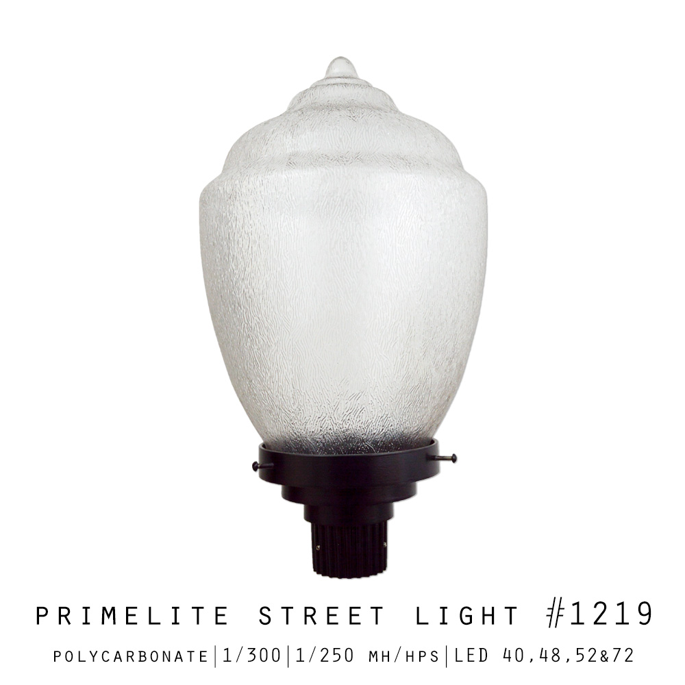 Primelite Street Light #1219 | Polycarbonate