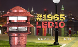 garden light #1965 LED10