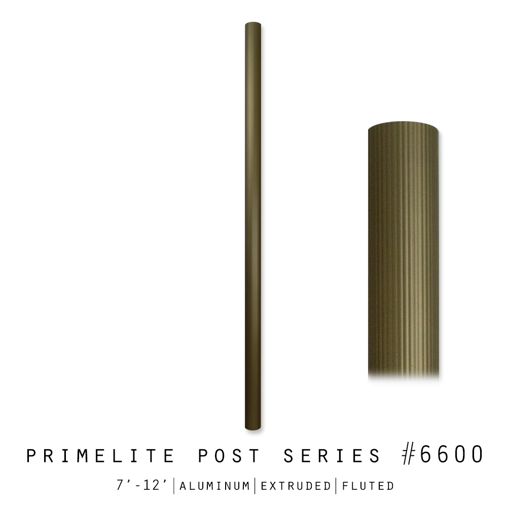 Aluminum Post #6600 Series
