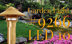 garden light #9266 LED10