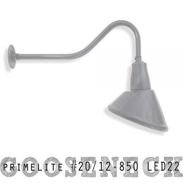 Gooseneck #20/12-850 LED22