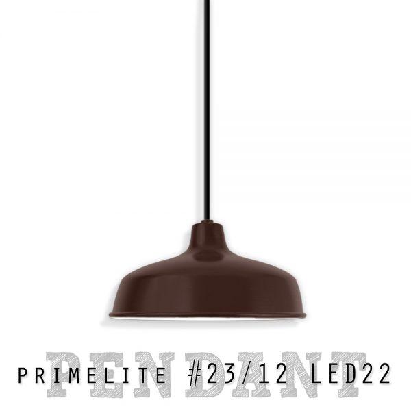Primelite Pendant #23/12 LED22