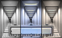 ceiling flush #5724 LED47