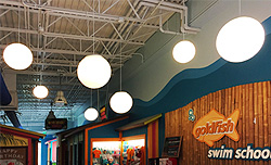 What is the Buzzzzz! in Westford, MA? Globe Pendants #472 & 478 are the Buzzzzz!
