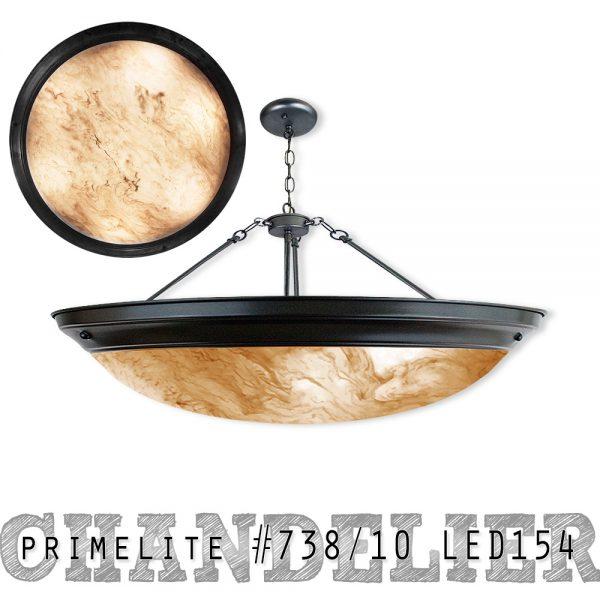 Primelite Chandelier #738/10 LED154