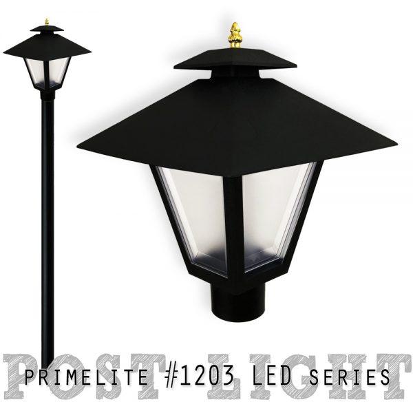 Post Light #1203 LED series