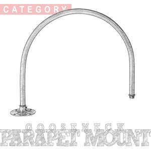 Parapet Mount Arm