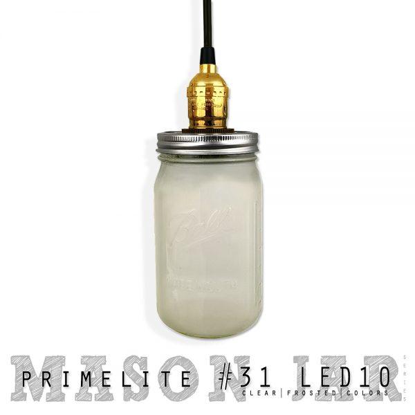 mason jar pendant