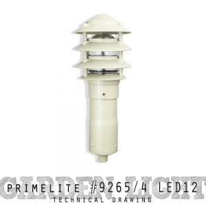 Garden Light #9265/4 LED12