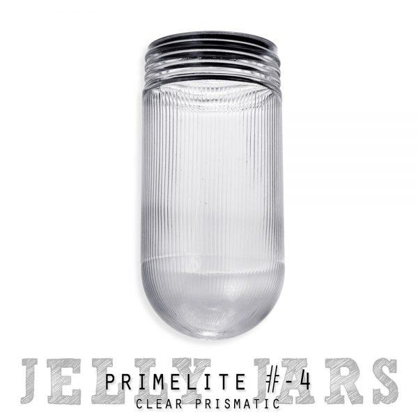 clear prismatic jelly jar
