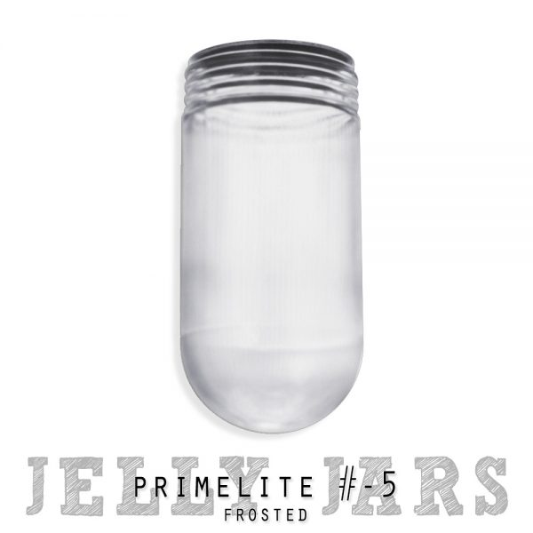 jelly jar frosted